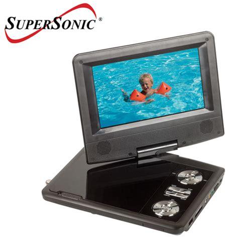 Dvd Tv Portable 7 supersonic 7 portable tv dvd player ebay