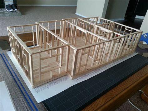 popsicle stick house blueprints google search kats