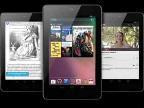 Asus Nexus 7 Android 8 by Best Android Tablets 300 Asus Nexus 7 Tablet 8 Gb
