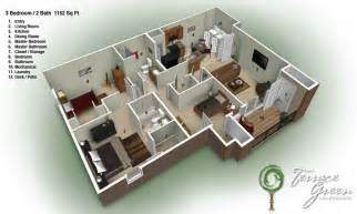 build 2 bedroom house 3 story apartment building plans house floor plans 3