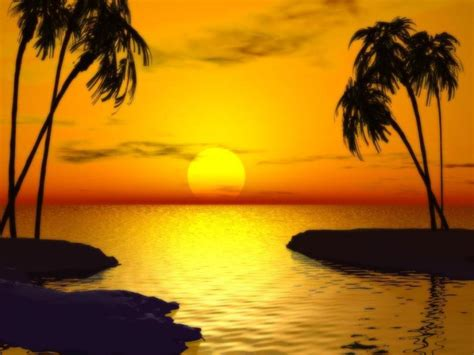 pemandangan sunset  indah pernik dunia