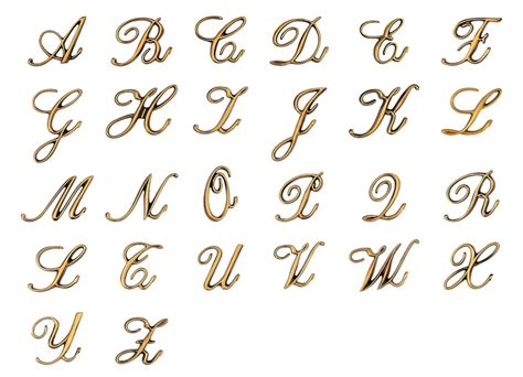 lettere alfabeto italiano corsivo lettere per lapidi corsivo palatino bronzo lucido real