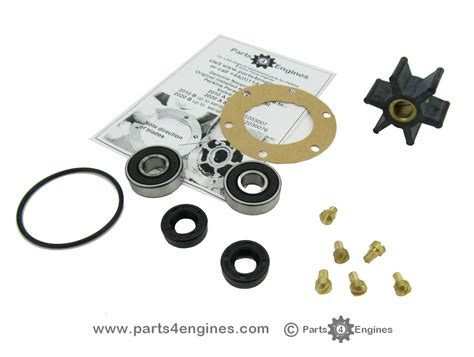 Volvo Md2020 Parts by Volvo Penta Md2020 Water Impeller And Service Kit