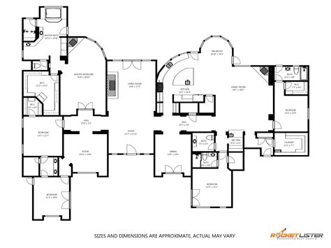schematic floor plan introducing the 3d interactive floorplan from the