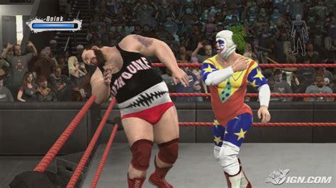 earthquake wwe earthquake wwe smackdown vs raw 2009 roster