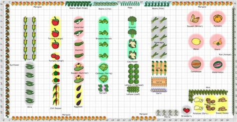 Free Vegetable Garden Layout Best Ideas About Free Vegetable Garden Planner Planning A Garden Layout With Free Software And