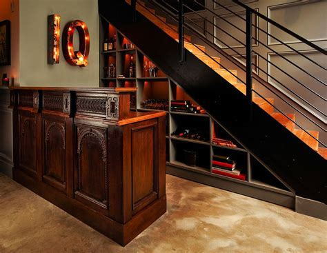 under stair bar 20 eye catching under stairs wine storage ideas