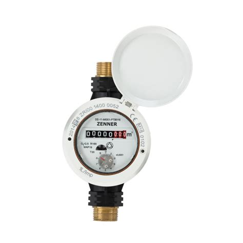 Acrylic Per Meter positive displacement water meter rtkd l in a composite