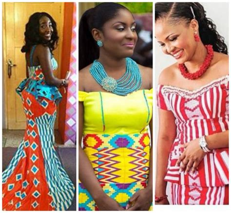 kente styles for women check out these kente styles for the trendy ladies kente