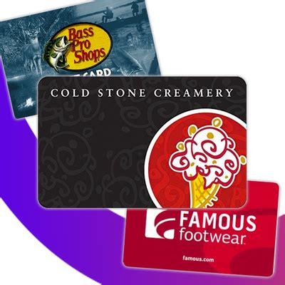 Who Has Gift Card Deals - amazon has gift card deals for cold stone famous footwear and bass pro shops thrifter