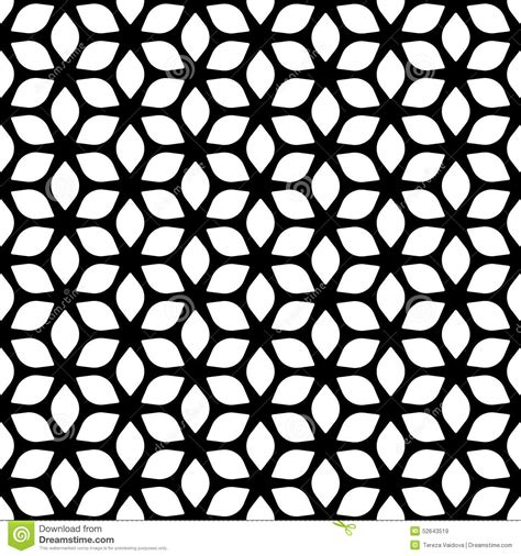black and white unique pattern decorative seamless floral geometric black white pattern