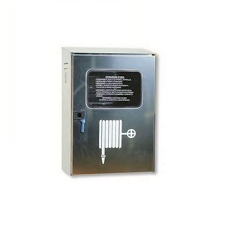 cassette antincendio uni 45 vendita cassetta nevada acciaio inox da esterno uni 45