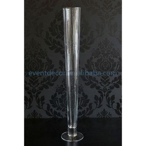 Wholesale Clear Vases by Transparent Glass Vase Wholesale 80cm Clear Glass