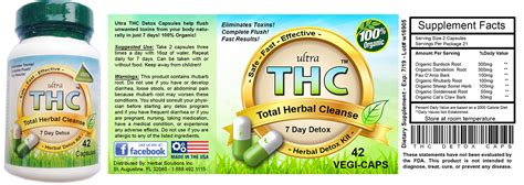 How Thc Detox Works by Detox Pills To Pass A Test For Fast Detox