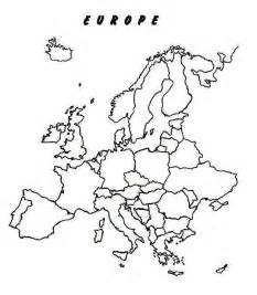 Blank Western Europe Map by Blank Western Europe Map Quiz Images