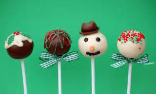 vanilla frost christmas cake pop time