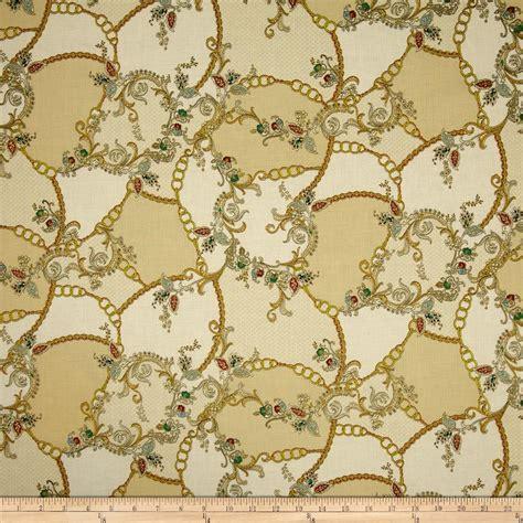 Cheap Patchwork Fabric - antonella metallic patchwork vintage gold discount