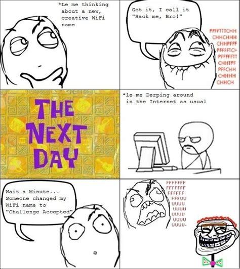 Internet Meme Names - wifi name le rage comics