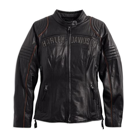 leather riding jackets harley davidson womens waterproof eclipse leather riding