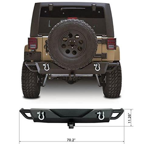 Jeep Wrangler Rear Bumper Restyling Factory Jk Jeep Wrangler Rear Bumper With Receiver