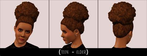 black curly hair sims 4 trending tumblr