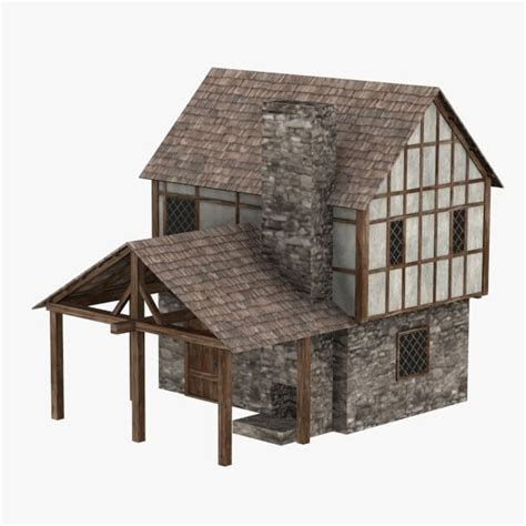 medieval houses medieval houses 3d max