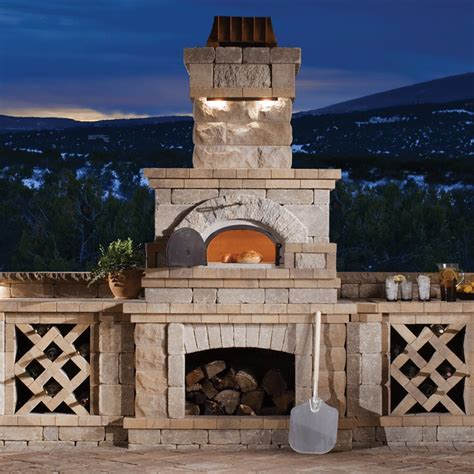 Outdoor Brick Fireplace With Pizza Oven   www.imgkid.com