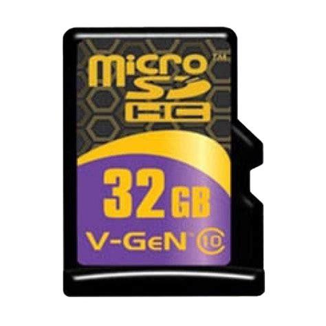 Micro Sd V 32gb Turbo Series Micro Sd Vgen Hc Class 10 jual v microsd turbo series memory card 32 gb 85 mbps harga kualitas terjamin