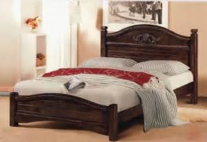 king size wood bed frame decofurnish