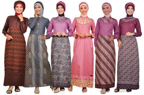 Model Baju Muslim Wanita gambar model baju batik muslim terbaru 2015 bintangbatik net