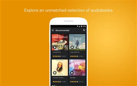 audiobooks for android audible audiobooks podcasts for android es appstore para android