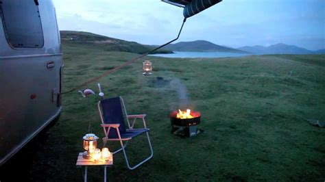 Winter Outer winter caravanning in the outer hebrides
