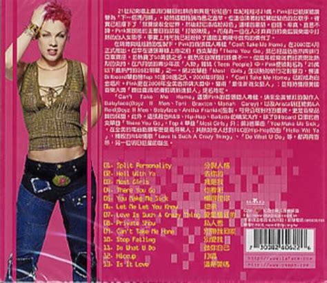 pink can t take me home taiwanese cd album cdlp 275740