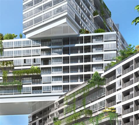 the amazing interlace housing complex in singapore showcase the interlace by oma features archinect