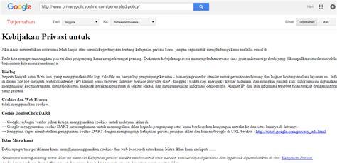 membuat blog paling mudah cara paling mudah membuat privacy policy dan disclaimer