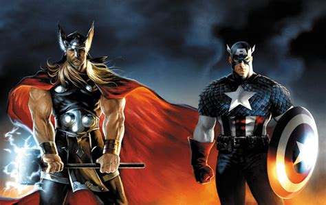 thor ironman captain america film thor and captain america to cameo in iron man 2 ending