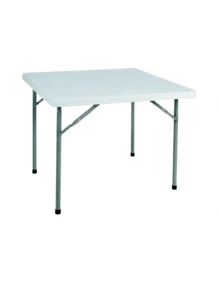 tavolo catering tavolo catering quadrato pieghevole in polietilene mm 884