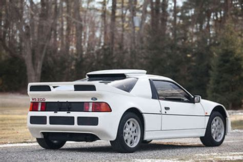 ford rs200 for sale unicorns exist a ford rs200 supercar is up for sale