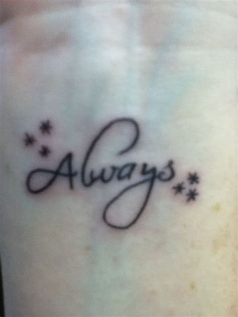 always harry potter tattoo harry potter always on wrist harry potter tattoos