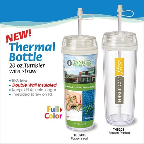 Printed Thermal Bottle thermal bottle 20 oz tumbler view all unique low cost