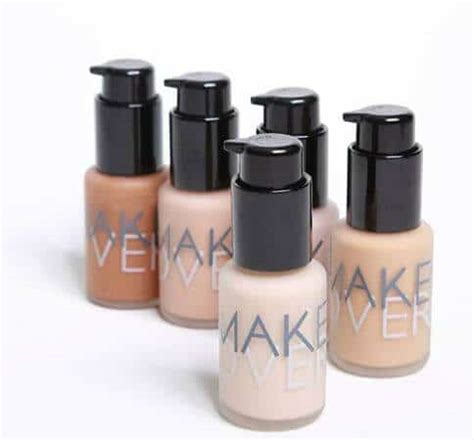 Make Oer Ultra Cover Liquid Foundation 02 Pink Shade 33ml T2909 2 10 rekomendasi merk foundation lokal yang bagus