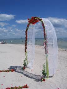 Beach Wedding Arch Wedding Arch Decorations