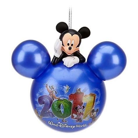 your wdw store disney christmas ornament 2011 mickey