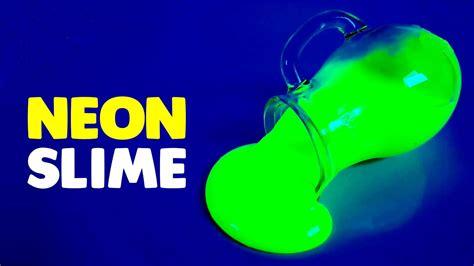 cara membuat slime yang unik simaklah cara membuat slime neon dijamin terang dalam