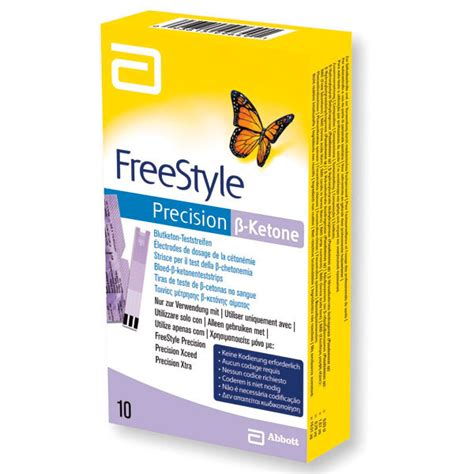 Test Product Ss freestyle precision 223 keton test strips 00307 servoprax