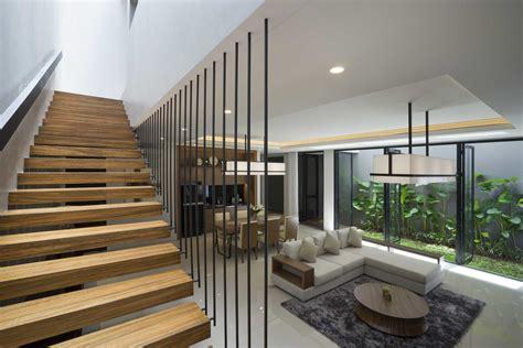 kreativitas desain tangga rumah minimalis  elegan arsitag