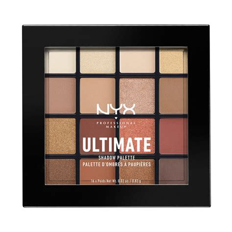 Nyx Ultimate Shadow Palette 9 best dupes of decay heat eyeshadow palette
