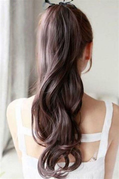 bow in her hair and rear view 30 peinados de novia con cola de caballo para tu gran d 237 a