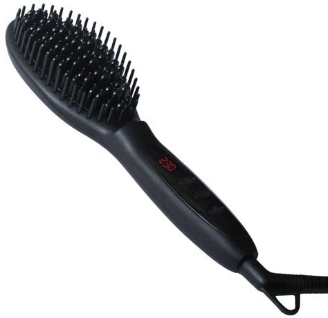 electric hair straightening brush electric hair straightener brush hair beauty products