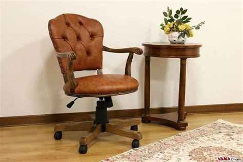 sedie e poltrone per ufficio sedia poltrona direzionale da ufficio in pelle con girevole